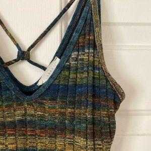 Lush strappy sweater dress